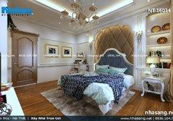 Thiết kế nội thất biệt thự tân cổ điển tại Long Biên BT16034