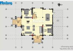 Biệt thự Pháp - Thiết kế biệt thự lâu đài 3 tầng BT15024