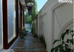 Biệt thự nhà phố đẹp BT16002 - sang trọng toát lên ở mọi góc cạnh