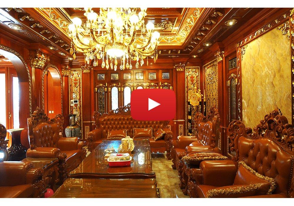 Dinh thự Châu Âu quy mô hoành tráng của đại gia nức tiếng Lạng Sơn BT15019