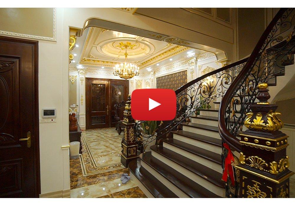 Thiết kế và thi công trọn gói biệt thự tân cổ điển với nội thất dát vàng hoành tráng BT17357