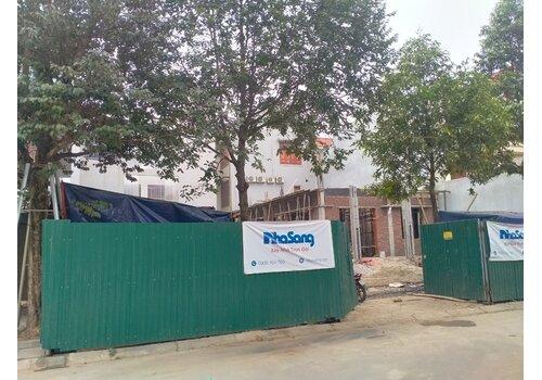 Cập nhật tiến độ thi công xây dựng biệt thự ông Hà - Thanh Hóa BT2107