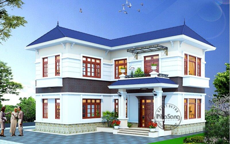 Nhà vườn chữ L 120m2 BT129