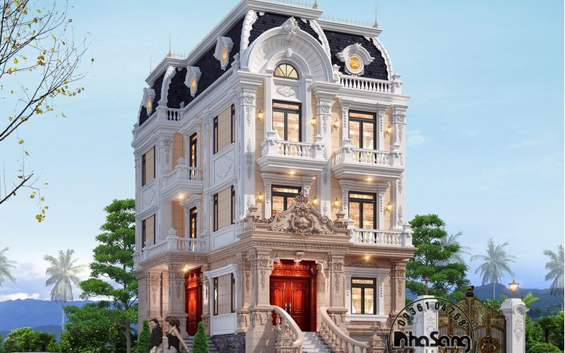 Biệt thự Trưởng Dung tại Nam Định kiều diễm BT2103