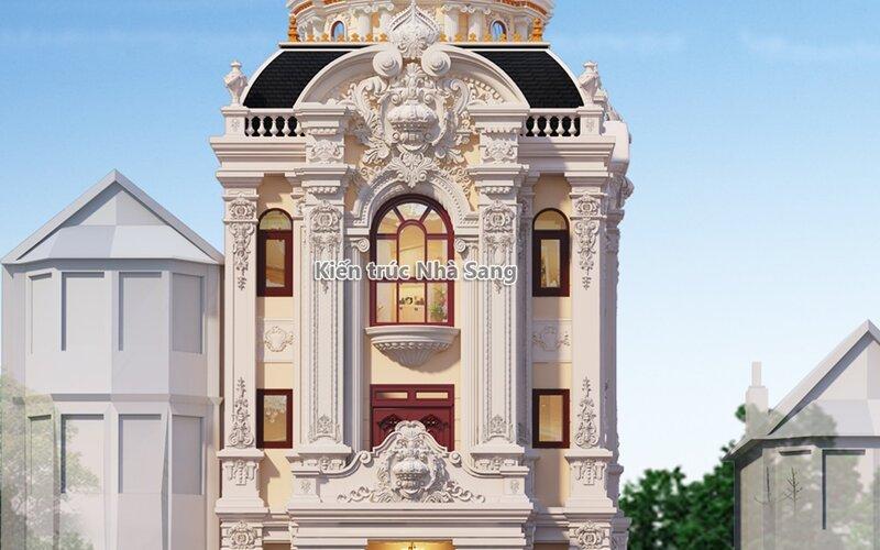 Biệt thự phố 3 tầng mái vòm mặt tiền 9m Phủ Lý BT19109