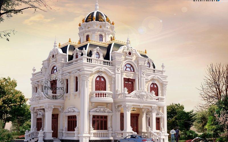 Chiêm ngưỡng kiến trúc lâu đài triệu đô của nữa chủ nhân Bình Dương BT121