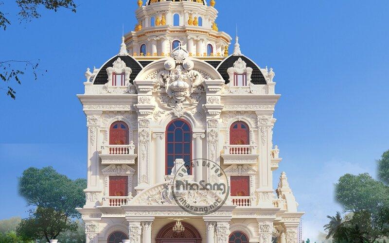 Lâu đài kiêu sa 10 tỷ tại Nam Định BT143