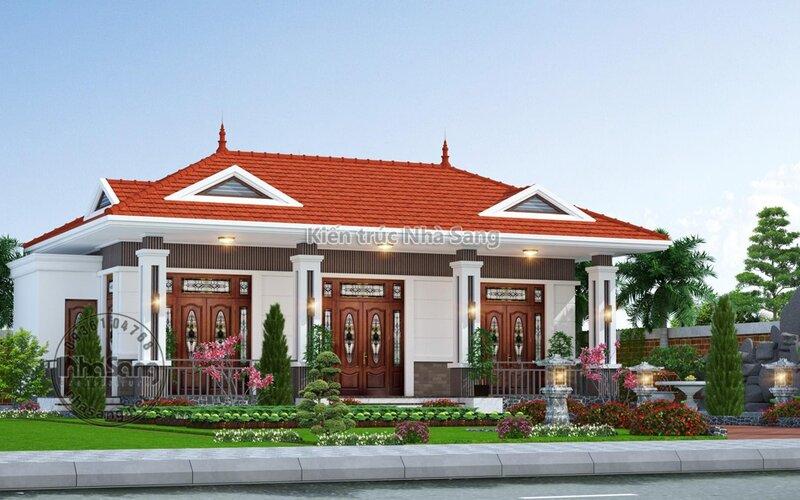Nhà 1 tầng để thờ tự và ông bà ở tại Vĩnh Long BT2022