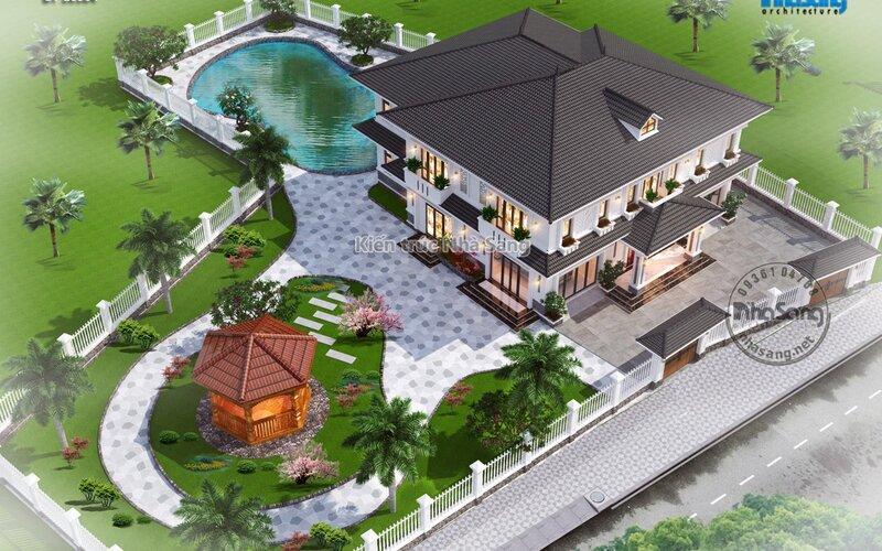 Nhà vườn nghỉ dưỡng 6 phòng ngủ BT20008