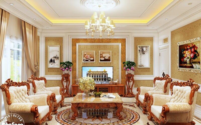 Nội thất lâu đài Sài Gòn đẹp xuất sắc NT2025