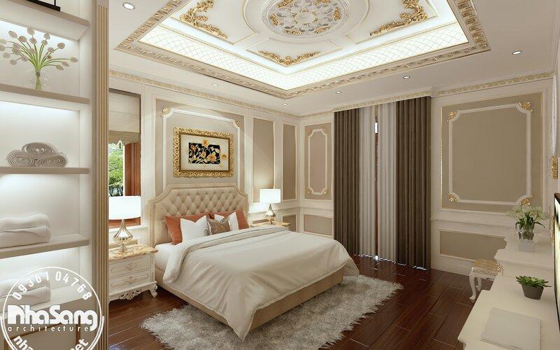 Nội thất lâu đài dát vàng triệu đô Bình Dương NT121