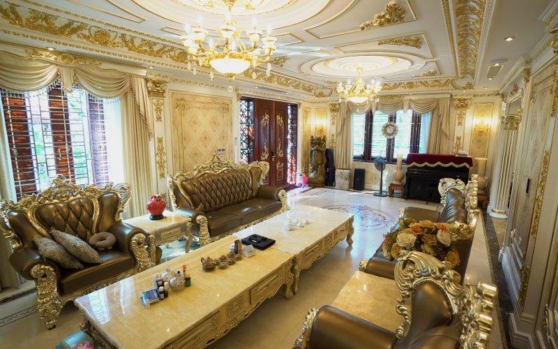 Biệt thự Pháp đẹp tại Bắc Ninh nội thất Hoàng Gia sang trọng bậc nhất BT16041