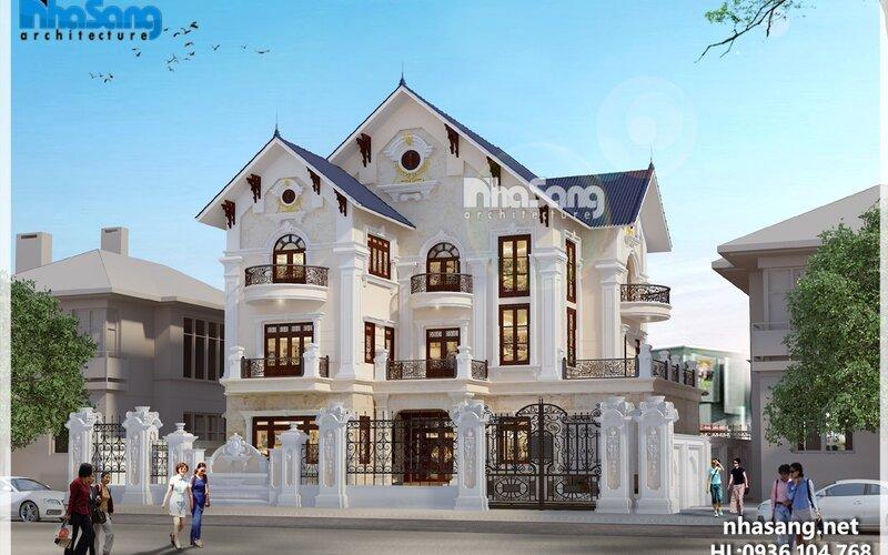 Biệt thự Chị Bảy 3 tầng tại Lạng Sơn BT16029
