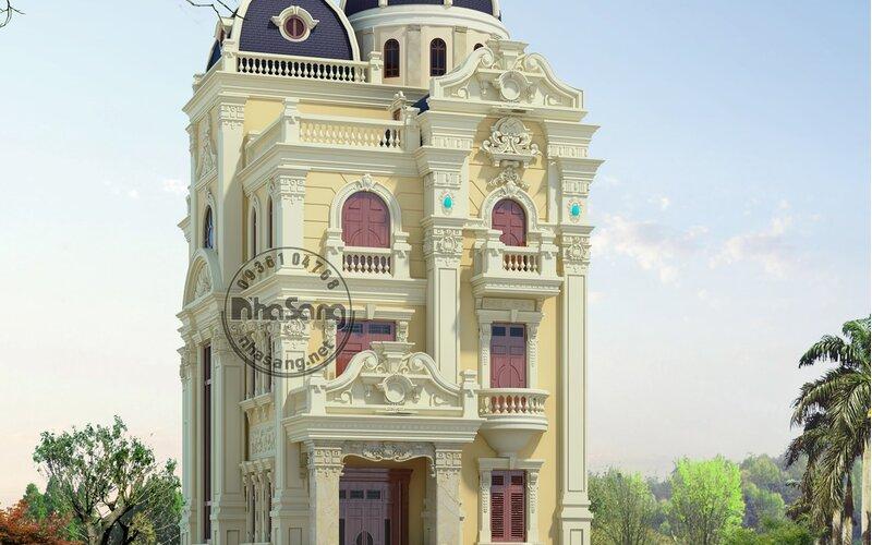 Biệt thự Hiền Phương 5 tầng tại Hà Nội BT15133