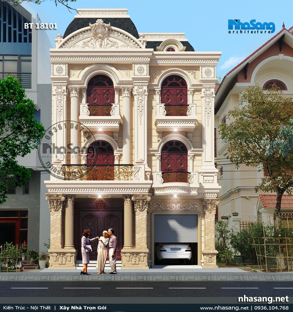 21 Mẫu biệt thự kiểu Pháp - Lạng Sơn