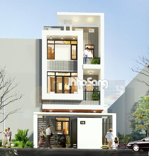 10 Nhà phố 3 tầng mặt tiền 4.5m
