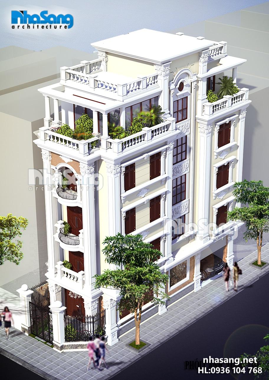 12 Nhà phố 5 tầng 2 mặt tiền 5x12m