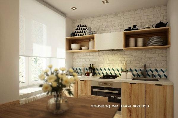 bếp chung cư mini