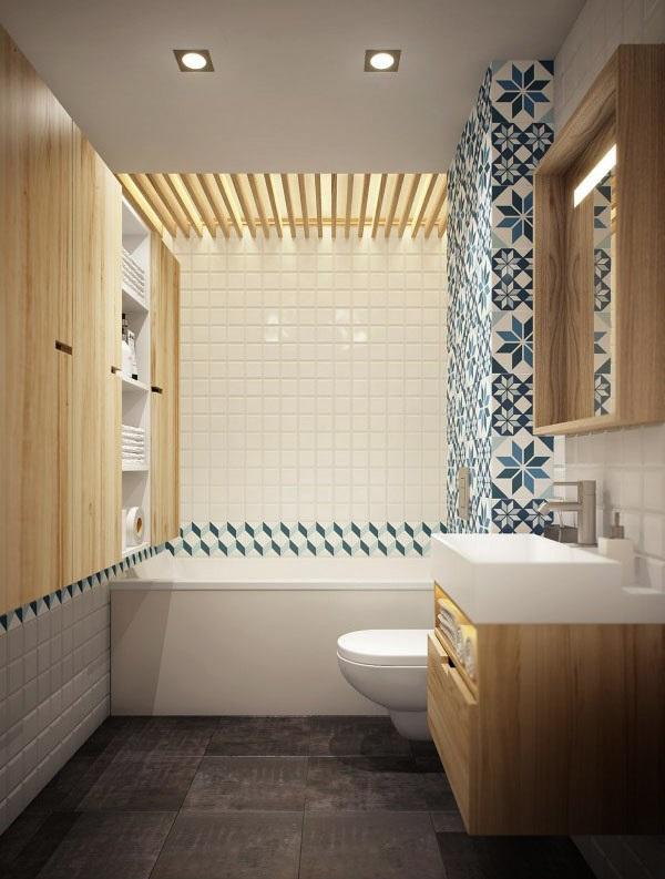 nhà tắm chung cư mini