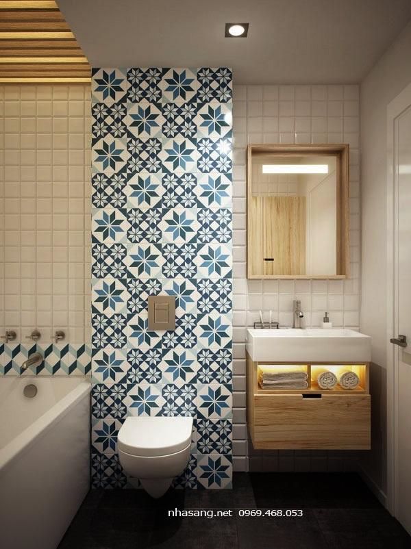 nhà vệ sinh chung cư mini