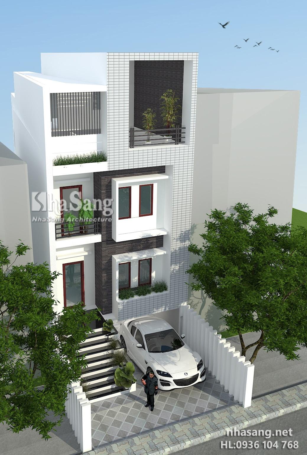 4 Nhà phố 3.5 tầng mặt tiền 6m