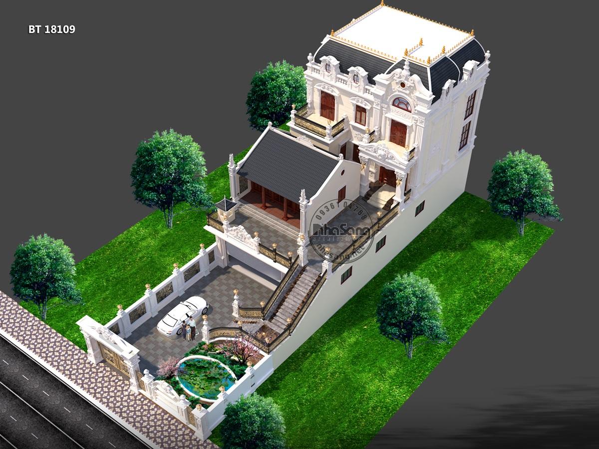 7 Mẫu  nhà kiểu Pháp - Hưng Yên