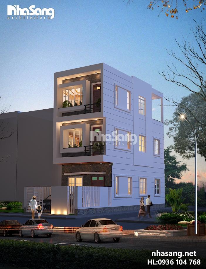 9 Nhà phố 3 tầng mặt tiền 6m