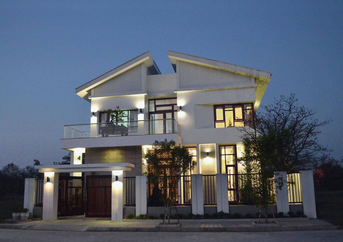 mẫu thiết kế nhà biệt thự phố đẹp