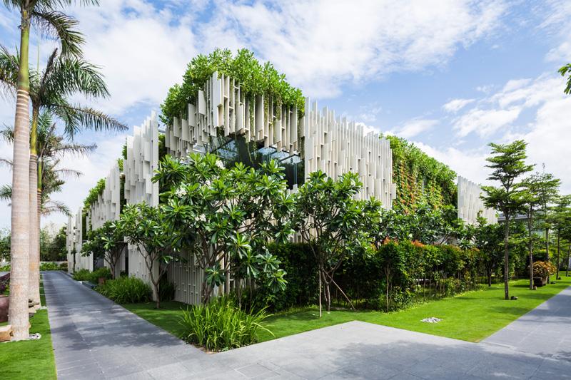 mẫu thiết kế nhà biệt thự 2 tầng đẹp