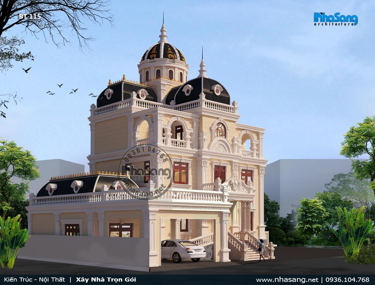 Biệt thự lâu đài pháp