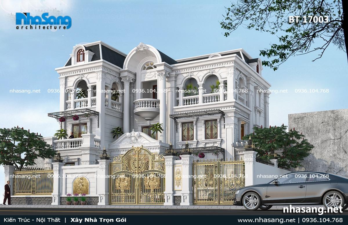 12 Mẫu nhà kiểu PHáp sang trọng Sài Gòn