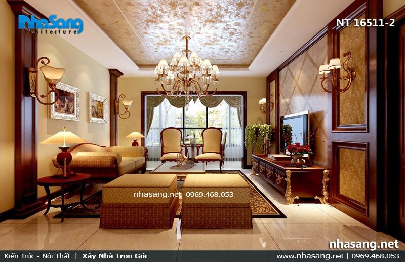 mẫu phòng khách biệt thự đẹp nt16511-2
