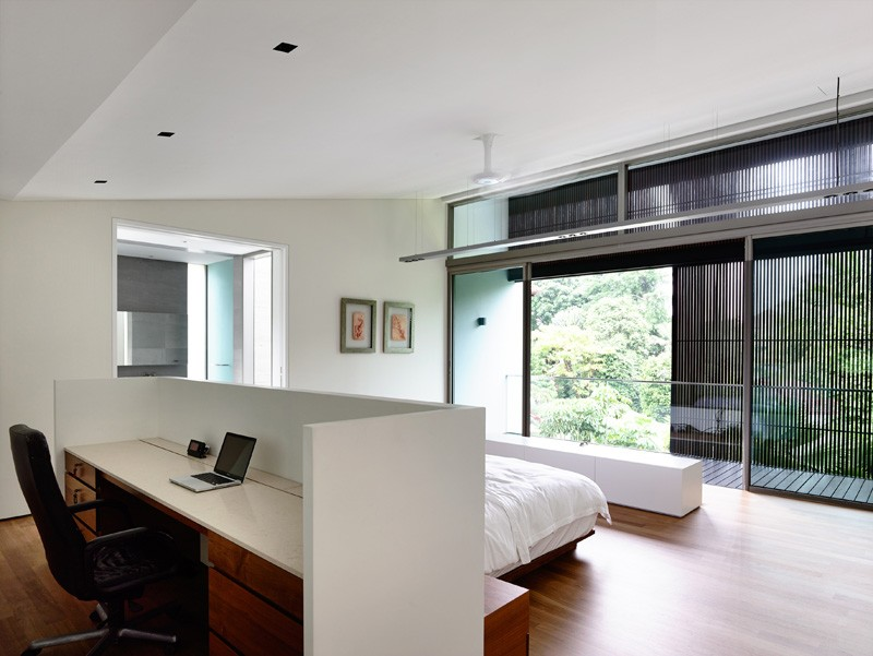 mẫu thiết kế nhà biệt thự hiện đại 2 tầng