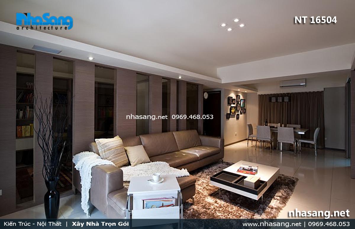 phòng khách đẹp cho nhà chung cư