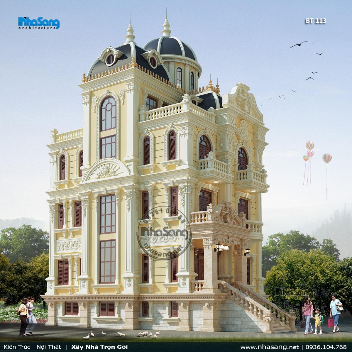 Thiết kế lâu đài 113