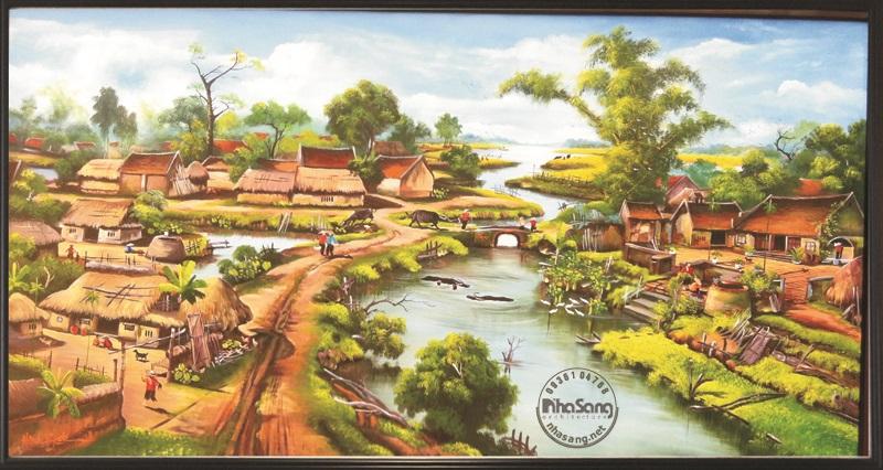 Tranh làng quê 1